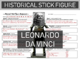 Leonardo Da Vinci Historical Stick Figure (Mini-biography)