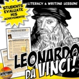Leonardo Da Vinci, Renaissance Man? Common Core Writing and Literacy Activity