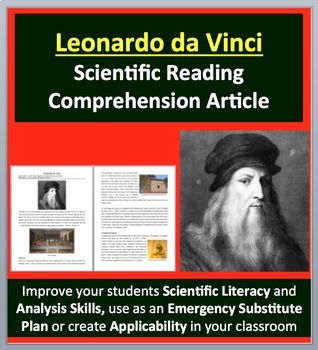 Leonardo da Vinci - A Famous Scientist Reading
