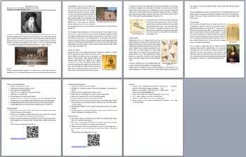 Leonardo da Vinci - A Famous Scientist Reading