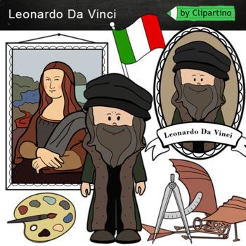 Leonardo da Vinci Clipart
