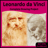 Leonardo da Vinci Complete Drawing Art Project