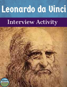 Leonardo da Vinci Interview Review Activity