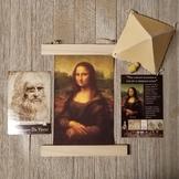 Artist Study: Leonardo da Vinci with parachute activity