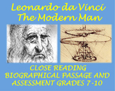 Leonardo da Vinci: The Modern Man (Biographical Passage and Assessment)
