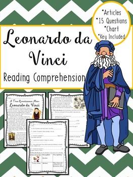 Leonardo da Vinci article, questions, Renaissance, Italy, Art