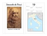 Leonardo da Vinci mini book
