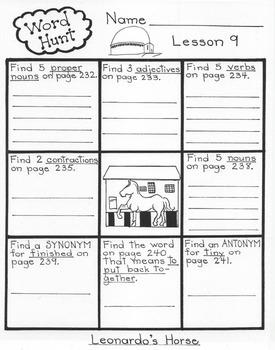 Leonardo's Horse  5th Grade Harcourt Storytown Lesson 9