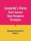 Leonardo's Horse Open Response Strategies (Reading Street 2011)