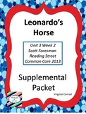 Leonardo's Horse--Supplemental Packet--Reading Street Grade 5