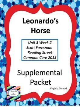 Leonardo's Horse--Supplemental Packet--Reading Street Grade 5