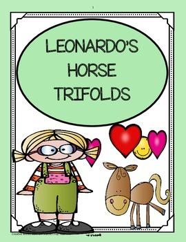 Leonardo's Horse Trifolds ( 5th Grade - Reading Street)