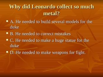 Leonardo's Horse Powerpoint