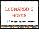 Reading Street Leonardo's Horse Vocabulary power point 5th grade