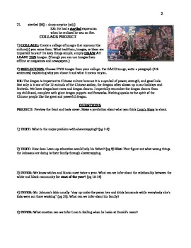Leon's Story - Unit Guide: Questions, Projects, Vocabulary Packet
