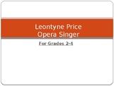 Leontyne Price First Lady Of Opera