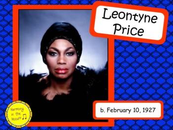 Leontyne Price: Musician in the Spotlight