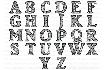 Leopard Alphabet Svg Animal Letters Jaguar Letters Clipart Monogram Alphabet