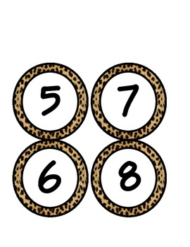 Leopard Class Numbers