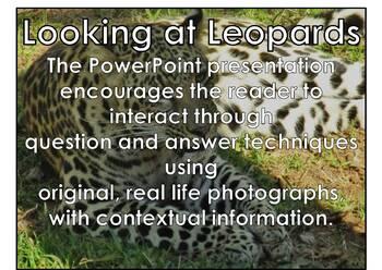 Leopard - Interactive PowerPoint presentation
