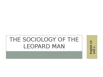 Leopard Man Unit PPT (Introduction + Reading Questions)