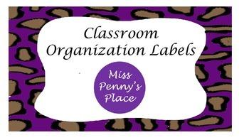 Leopard Organization Labels