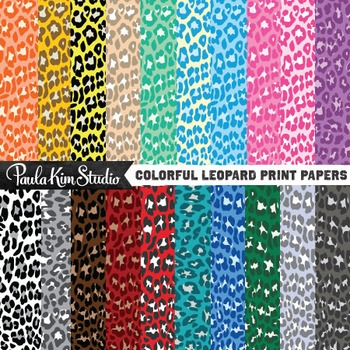 Digital Paper - Leopard
