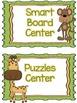Leopard Print/Jungle Theme Classroom Decor Pack