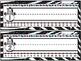 Leopard and Zebra Print Name Plates