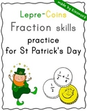"""Lepre-Coins"" - Fraction skills practice for St Patrick's"