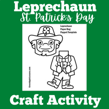 St. Patrick's Day Craft | St. Patricks Day Activity | Leprechaun Craft