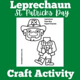 Leprechaun Craft Activity