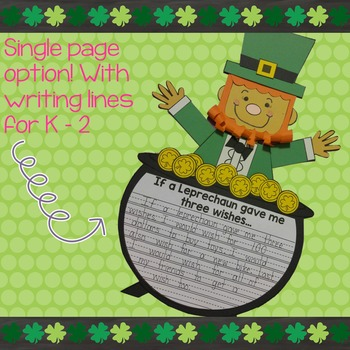 Leprechaun Writing and Craft