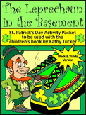 St. Patrick's Day Language Arts: The Leprechaun in the Basement Activity Packet