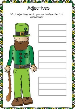 Leprechaun - Adjectives