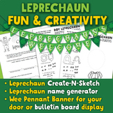 Art and Giggles for St. Patrick's: Draw and Name a Leprechaun!