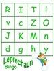 Leprechaun BINGO with Upper & Lower Cases Letters