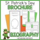 Leprechaun Biography Brochure Project | St. Patrick's Day