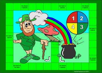 Leprechaun Board Game