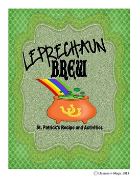 Leprechaun Brew Activity Pack
