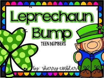 Teen Numbers Bump Leprechaun Version