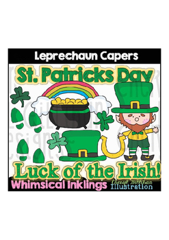 Leprechaun Capers Clipart Collection