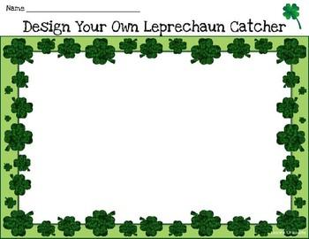 Leprechaun Catcher Templates