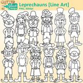 Leprechaun Clip Art | Saint Patrick's Trolls for Worksheet