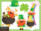 Leprechaun Clip Art and MYO Printable and Clip Art