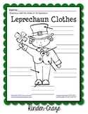 Leprechaun Clothes Labeling Worksheet