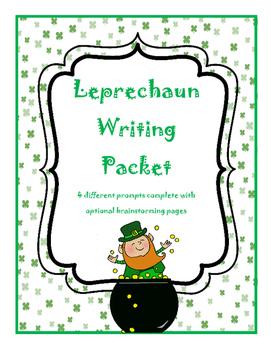 Leprechaun Common Core Writing Prompts