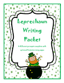 Leprechaun Common Core Writing Prompts