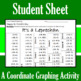 St. Patrick's Day - It's a Leprechaun - A Coordinate Graphing Activity