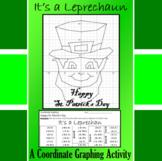 St. Patrick's Day - It's a Leprechaun - A Coordinate Graph